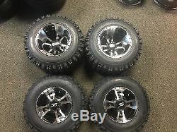 10 YAMAHA RAPTOR 660R 700 MACHINED ITP SS112 Rims & Slasher Tires Wheels kit