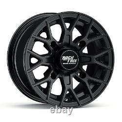 12 RockTrix RT104 ATV UTV Wheels Rims 12x7, 4x137, 110mm Bore, 5+2 Offset