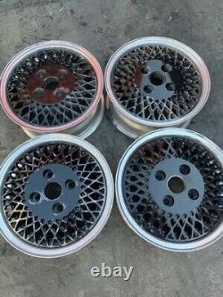 13 Wheels Rims Mesh Black 192 92 American Racing 4x100 Honeycomb Enkei