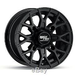 14 RockTrix RT104 ATV Wheels Rims for Polaris Sportsman RZR Ranger 14x7, 4+3