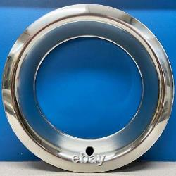 1515d3 Chevy Gm 3 Depth Steel Rally Wheel 15 Trim Rings Beauty Rings New Set 4