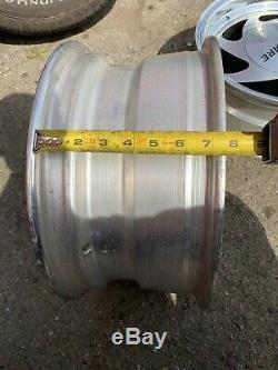 15 15x7 Wheels Rims 5x139.7 5x5.5 Aluminum Alloy Mag American Racing Set 4
