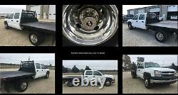 16 01-07 Chevy Silverado / GMC Sierra 3500 Dually Wheel Covers