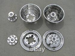 16 01-07 Chevy Silverado / GMC Sierra 3500 Dually Wheel Simulators