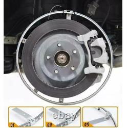 17'' Car Truck LED Wheel Ring Rim Light Kit Illuminate RGB with Blue tooth App