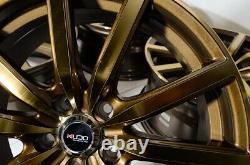 18 Bronze Wheels Rims Fit Hyundai Sonata Infiniti Q45 Lexus IS250 Nissan Altima