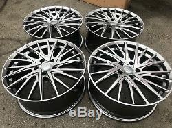 18 Gunmetal Anthracite Wheels Rims Gray Grey