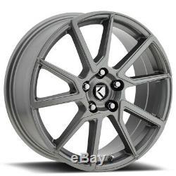 18 Gunmetal Graphite Wheels Rims