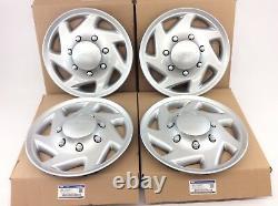 1998-2018 Ford Econoline E250 E350 E450 16 Wheel Hub Cap COVER Set of 4 new OEM
