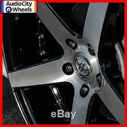 20 Mq M3226 Wheels Black Machined Face Staggered Rims And Tires Pkg