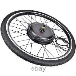 26 Electric Bicycle Front/Rear Wheel 48V 1000/1500W Ebike Motor Conversion Kit