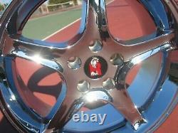 2.25 Ford Mustang Cobra R Snake SVT Wheel Rims 2 1/4 Hub Center Caps
