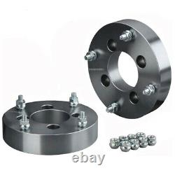 4PC 4x110 to 4x156 1.5 ATV Wheel Adapter/Spacer 90mm CB For Can-Am Arctic Cat