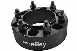 4Pc Toyota 2 51 MM Thick Hub Centric Wheel Spacers Tacoma Tundra 4 Runner Black