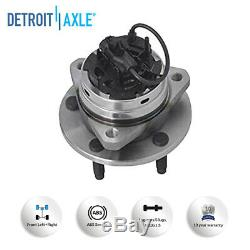 (4) Front & Rear Wheel Bearing Hub Kit for Chevy Malibu Saturn Aura G6 with ABS
