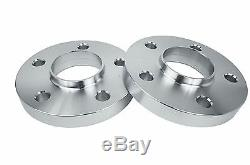 4 Mercedes Benz 5x112 Staggered 15 MM & 20 MM Hub Centric Spacers With Lug Bolts