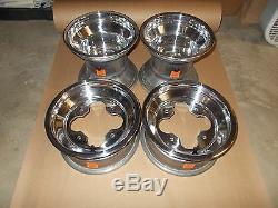 4 Rims Wheels Front Rear Honda TRX 250R 250X 250EX 300EX 300X 400EX 450R 450ER