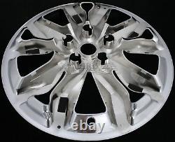4 fits Chevrolet Impala LT 2016-2018 Chrome 18 Wheel Skins Rim Covers Hub Caps