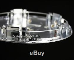 4 fits Eldorado Deville DTS Chrome Gold Wheel Center Hub Caps 5 Lug Rim Cover RG