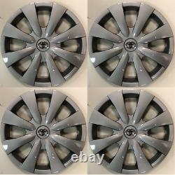 4 x full set 15 Hubcaps Fits Toyota Corolla 2009 to 2013 Wheel Cover