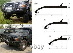 4x4 Offroad UNIVERSAL WHEEL TRIM ARCH EXTENSIONS FENDER FLARES 7cm 70mm K70