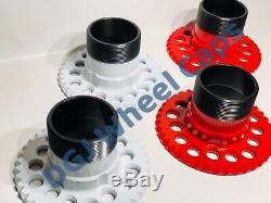 5 Lug Universal Lowrider Wire Wheel Adapters