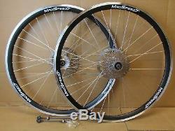 700c (28) Hybrid 29 29er MTB Bike Disc Rim Front Rear 6/7/8/9 Speed Wheel Set