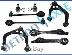 8pc Front Upper & Lower Control Arms 2011-2017 Dodge Charger Challenger 300 2WD