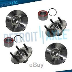 All 4 Front & Rear Wheel Bearing Hub Assembly 2002 2003 2004 2005 Ford Explorer