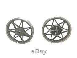 Aluminum Mag Wheels Set Harley-Davidson Sportster XLH XLCH Front Rear Henry Abe