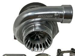 Billet Wheel Dual Ball Bearing Turbo GT35 GTX3582R T3.82 A/R Vband Clamp 4 Bolt