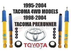 Bilstein B6 4600 Front Rear Shocks For Toyota Tacoma Prerunner / DLX / SR5 4WD