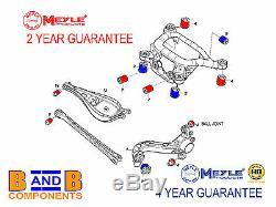 Bmw E46 Rear Control Arm Mount Trailing Subframe Bush Kit Set Meyle A755
