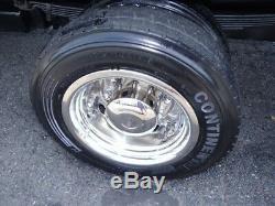 Chevy 19.5 8 LUG C4500 C5500 C6500 Topkick Kodiak Wheel Simulator Wheel Covers 4