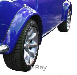 Classic Mini Wheel Sportpack Arches Works Set 4 Fibre Glass Wide 3.5 Z3565