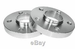 Complete Set 15mm Thick Mercedes Benz Hub Centric Wheel Spacers With Lug Bolts