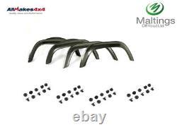 Defender Wheel Arch Set Defender Eyebrow Set Terrafirma Gloss Black Tf280 90/110