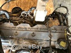 Dodge Ram 2500 5.9l Cummins Diesel 4x4 Manual Oem 5.9 Liter Block Motor Engine