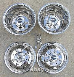 FORD F350 17 05-20 Pacific Dualies Dually Wheel Covers