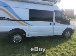 FORD TRANSIT Mk7 Van Camper Bus Wing Wheel Arch Trims BLACK set 8 pcs 06-13 blac