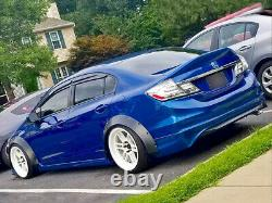 Fender Flares For Honda Civic FB CONCAVE Wide Body Wheel Arches FK EX 2.75 4pcs