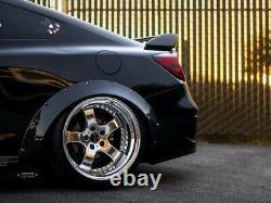 Fender Flares For Honda Civic FB CONCAVE Wide Body Wheel Arches FK EX 2.75 4pcs