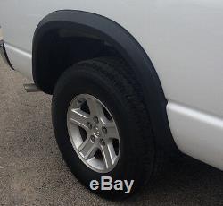 Fender Wheel Flares For 2002-2008 Dodge Ram Regular / Quad / Mega Cab Short Bed