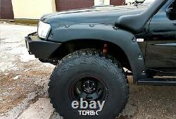 Fender flares, bushwacker, wheel arches for NISSAN PATROL(Safari) Y61, Tuning