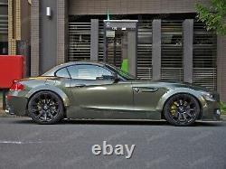 Fender flares for BMW Z4 CONCAVE wide body wheel arches E85 E86 E89 2.75 4pcs