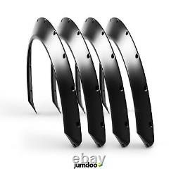 Fender flares for BMW e36 CONCAVE wide body wheel arches ABS 1.5 4pcs