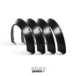 Fender flares for Ford Fiesta CONCAVE wide body JDM wheel arches ABS 70mm 4pcs