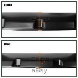 Fit 2009-2014 F150 Offroad 4PC Pocket Rivet Black Wheel Fender Flares Cover