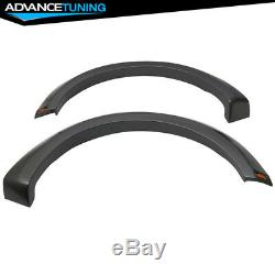 Fits 15-17 Ford F-150 New Raptor Style Fender Flares Painted Grey 4PC ABS