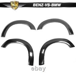 Fits 15-19 Dodge Challenger Hellcat Style Fender Flares Unpainted PP